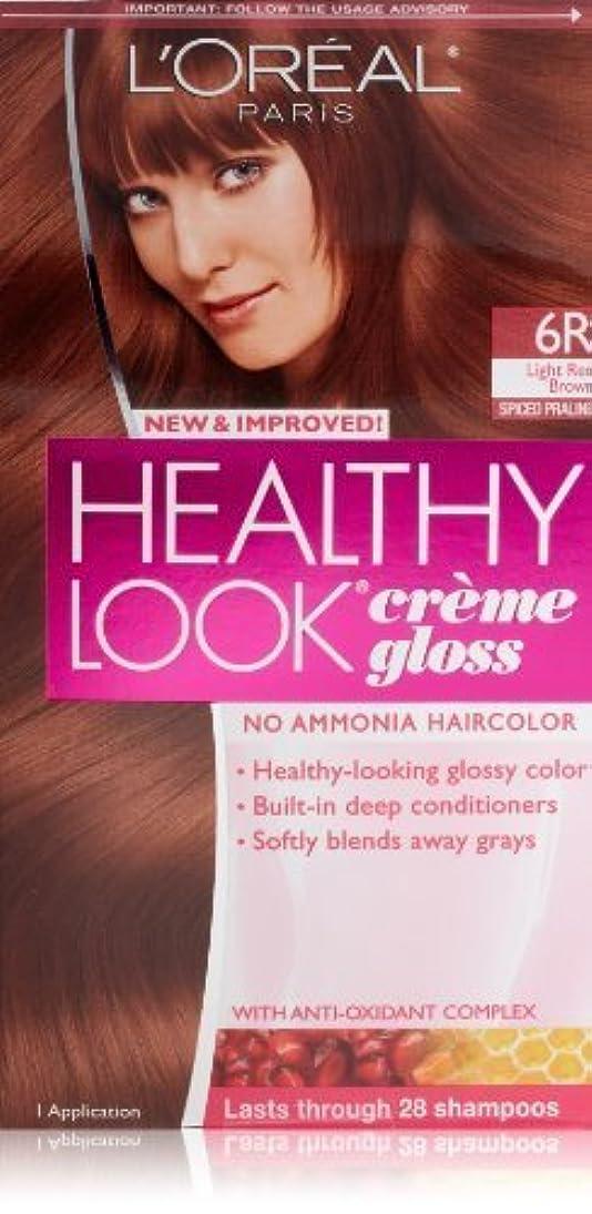 タイト補体できるHealthy Look Light Red Brown, Spiced Praline by L'Oreal Paris Hair Color [並行輸入品]