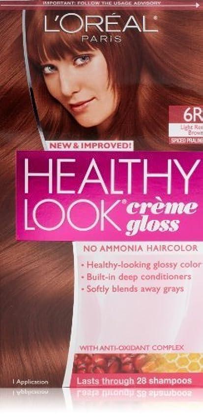 実現可能性アラスカアコーHealthy Look Light Red Brown, Spiced Praline by L'Oreal Paris Hair Color [並行輸入品]