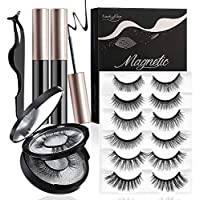 6-Pairs Luckyfine Magnetic Eyeliner Kit