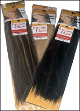 Sensationnel Premium Now 100% Human Hair Yaky Weave 18