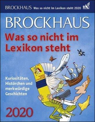 Brockhaus was so nicht im Lexikon steht - Kalender 2020 - Harenberg-Verlag - Tagesabreißkalender - 12,5 cm x 16 cm