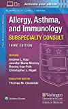 The Washington Manual Allergy, Asthma, and Immunology Subspecialty Consult
