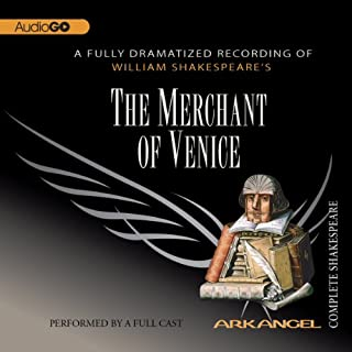 The Merchant of Venice audiobook cover art
