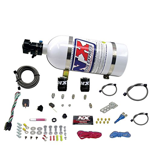 Nitrous Express 20922-10 35-150 HP EFI Single Nozzle System with 10 lbs. Bottle for Ford