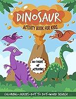 Dinosaur activity book for kids