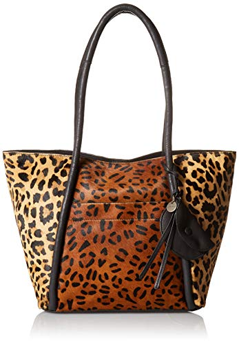 Lucky Brand womens Dayn Tote, Leopard Multi, Large US
