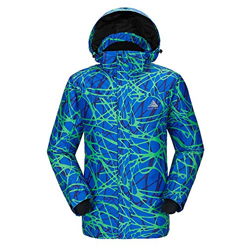 Review huaxiazu Outdoor Ski Suit-Men-Shishi Thicken Insulation Veneer Mountaineering Breathable Emer...
