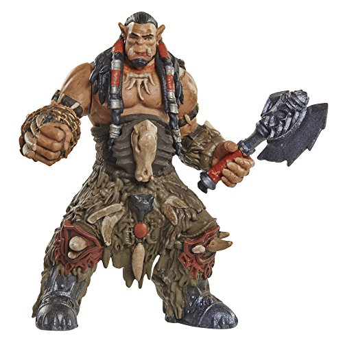 Warcraft Mini Figure Durotan & Alliance Soldier Action Figures (2 Pack)