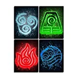 Anime-Poster Avatar The Last Airbender,