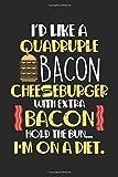 I'd like a quadruple bacon cheeseburger with extra bacon Hold the bun..: Diät Gut Fettreich...