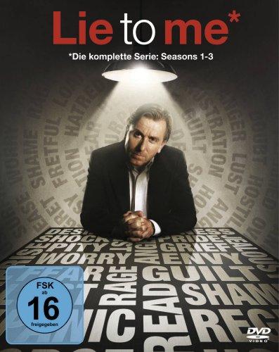 Lie to me - Season 1-3