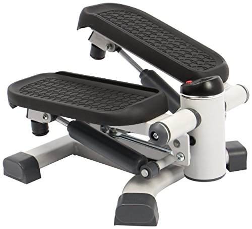 SportPlus - 2 in 1 Mini Stepper - Technologie Dual way brevetée -...