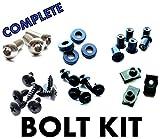 Honda CBR600 F3 95 96 97 98 Motorcycle Fairing Bolt Kit, Complete Screws and Fasteners kit CBR 600 F-3 1995 1996 1997 1998
