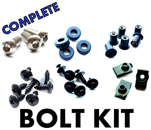 Honda CBR600 F3 95 96 97 98 Motorcycle Fairing Bolt Kit, Complete Screws and Fasteners kit CBR 600 F-3 1995 1996 1997 1998