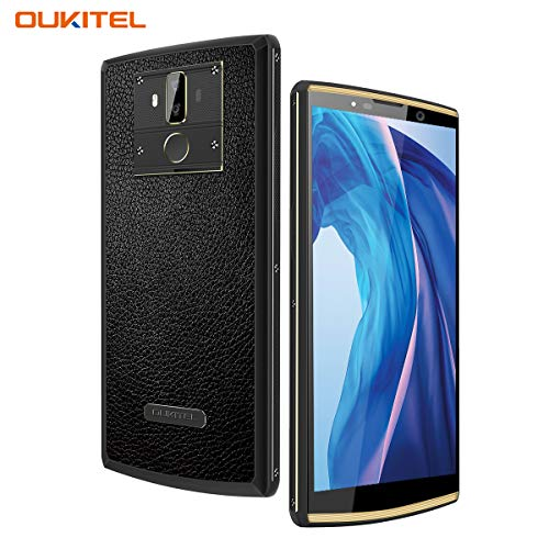 10000mAh Cell Phones Unlocked OUKITEL K7 Pro Dual SIM 4G Android 9.0 Smartphone 6 Inch Screen 4GB RAM 64GB ROM Octa Core 13MP+5MP 9V/2A Quick Charge