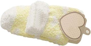 1 Pares Invierno Mes Coral Mujer Embarazada Espesar Cachemira Mode De Marca Calcetines De Fondo Cálido Otoño Invierno Calcetines Invisibles Calcetines Invisibles