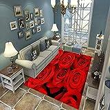N/U Alfombra Sala De Estar Dormitorio Alfombra Niños Gateando Moderno 3D Impreso Decoración para El Hogar Alfombra Suave Antideslizante E-1607U 140X200Cm