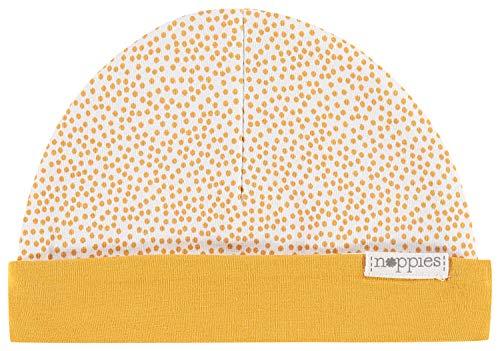Noppies U Hat Rev Babylon Bonnet, Jaune (Honey Yellow C036), Unique (Taille Fabricant: 0M-3M) Mixte bébé