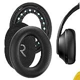 Geekria QuickFit Almohadillas de repuesto para auriculares Bose 700, NCH700, NC700, almohadillas para auriculares, almohadillas para auriculares, piezas de reparación (negro)