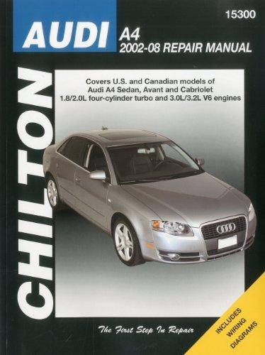 Price comparison product image Audi A4 2002-2008 (Chilton's Total Car Care Repair Manuals)