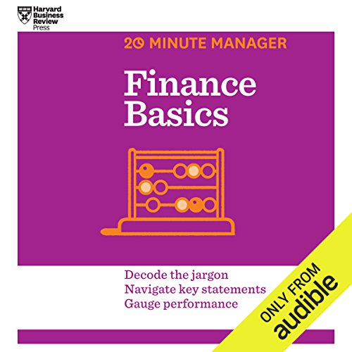 Finance Basics audiobook cover art