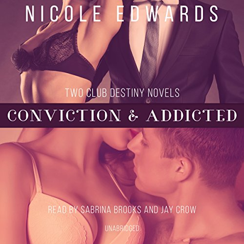 Conviction & Addicted audiobook cover art