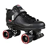 Suregrip Quad Skates Patines Patinaje Unisex Adulto, Negro (Black), 35