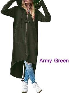 Cárdigans Jerséis Escudo otoño Mujeres con capucha sudaderas con capucha vestido femenino de manga larga con capucha Casua...