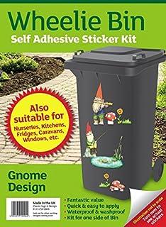 Wheelie Bin Self Adhesive Sticker