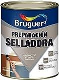 PINTURA PREPARACION BRUGUER MADERA INTERIOR. EXTERIOR SUPERFICIES POROSAS SELLATIN BLANCO 750ML
