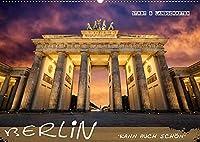 Berlin kann auch schoen (Wandkalender 2022 DIN A2 quer): Berliner Architektur und Landschaften (Monatskalender, 14 Seiten )