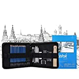 Dyna-Living Bleistift Set, Kohlestifte Zeichenset Zeichnen Lernen Kugelschreiber Set für Künstler, Student, Lehrer oder Anfänger - 36 Stück