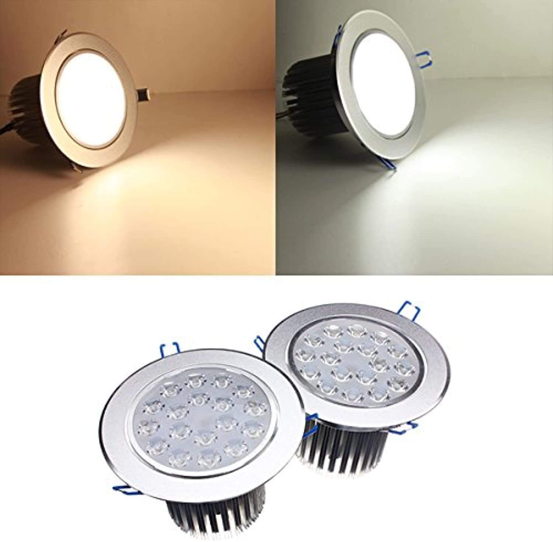 QIZIANG 18W helle LED-Deckeneinbauleuchte 85-265V  Driver Hot (Farbe   Weiß) B07KVBM94Q  | Roman