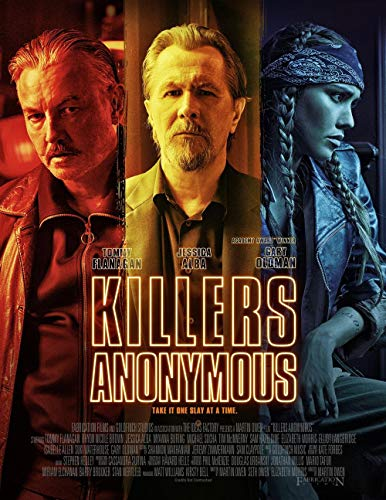 Lionbeen Killers Anonymous Movie Poster Cartel de la Pelicula 70 X 45 cm