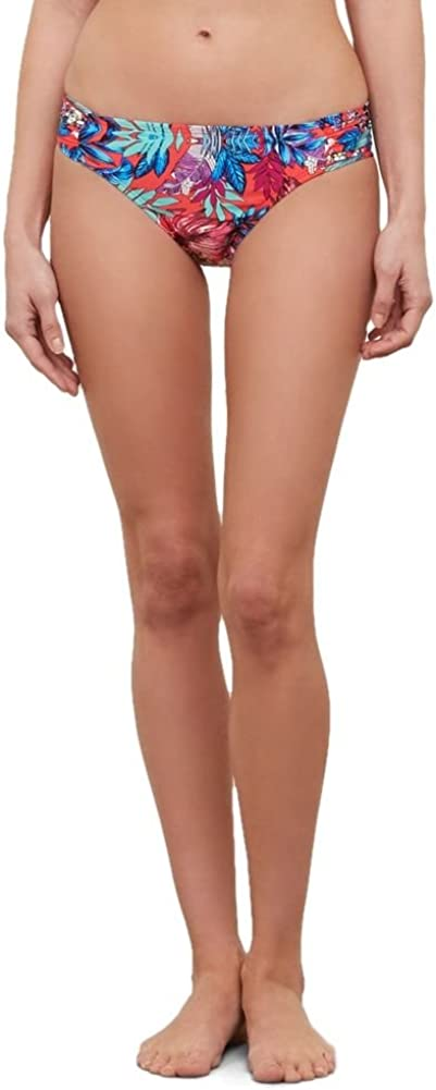 Outlet ☆ Free Shipping Kenneth Cole New Regular discount York Women's Hipster Swimsu Bikini Side Shirred
