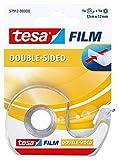 Cinta de doble cara tesafilm con dispensador (7,5m x 12 mm)