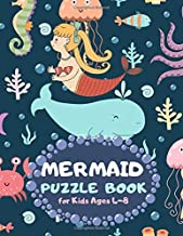 Mermaid Puzzle Book for Kids Ages 4-8: Sea Life Theme A Fun Kid Workbook Game for Learning, Coloring, Mazes, Sudoku and More! Best Holiday and Birthday Gift Idea