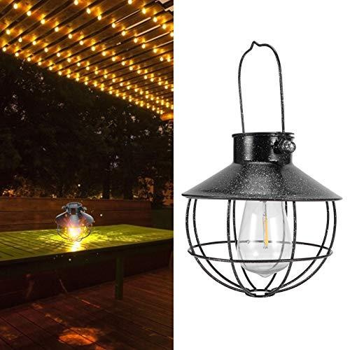 Linterna para Colgar en el Patio, Linterna Solar de Rendimiento Efectivo Capacidad de Larga duración para céspedes, árboles o pabellones para Jardines y Patios