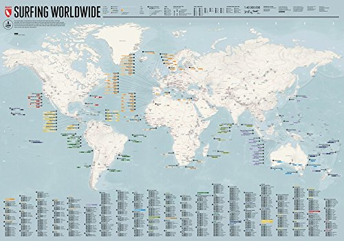 Surfing Worldwide - Map: The ult...