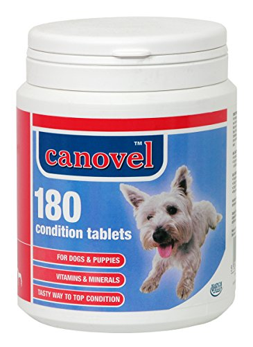 Canovel Condition Tablets (Size: 180 Tablet Pot)