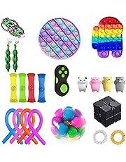 LIHAEI Fidget Sensory Toy Set,Stress pour la Concentration et Le Calme-Toys DE SRUCTION Premium ET Durable pour Les Enfants Adultes,Sensoriat Fidget Anti Stress Toy Set