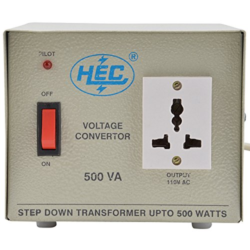 HEC 220 to 110V Voltage Converter (500 Watts)