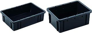 グリーンパル システムコンテナBOX #22 ブラック & システムコンテナBOX #10 ブラック【セット買い】