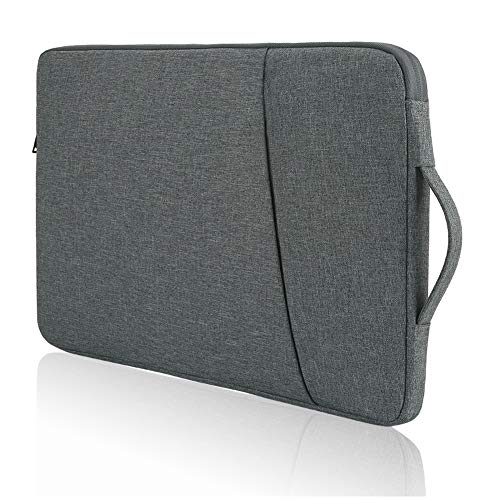 Protective 14 Inch Laptop Case Sleeve, Water Resistant, for Acer Swift 3/HP 14 Laptop/Lenovo 14 Laptop/Dell Chromebook 14/MacBook Pro 15 (Dark Grey)