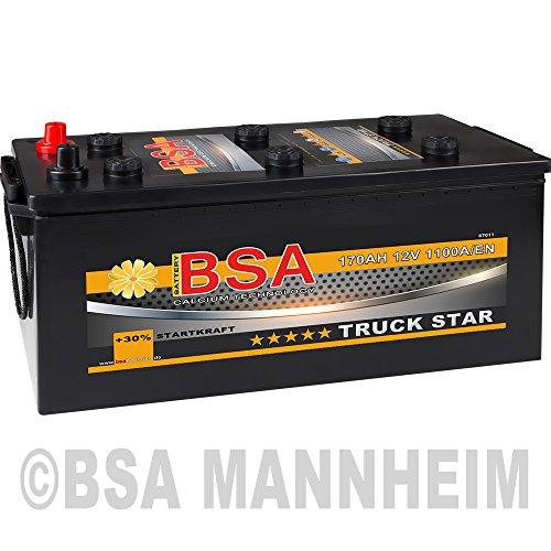 LKW Batterie 170Ah 12V 1100A Starterbatterie ersetzt 180Ah 155Ah Schlepper Traktor