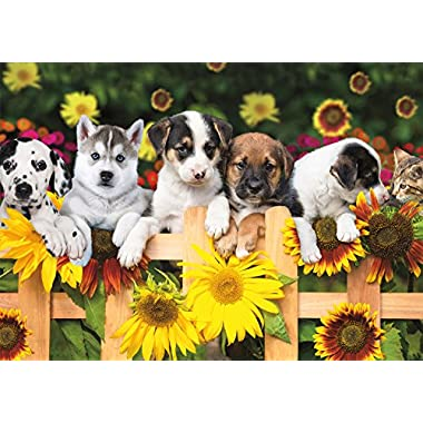 Buffalo Games - Adorable Animals - The Gang's All Here - 300 Large Piece Jigsaw Puzzle