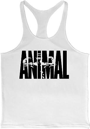 e007d2ba8a431 Cabeen Musculation Animal Hommes Débardeur Stringer Bodybuilding Tank Tops  Sport Shirt