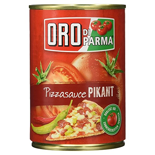 Oro di Parma Pizzasauce pikant, 400 g
