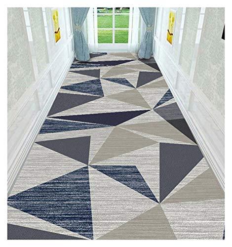 ditan XIAWU Bereich Teppich Läufer rutschfest Wohnzimmer Kann Geschnitten Werden Eingang (Color : A, Size : 90x600cm)