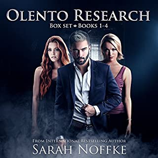 Olento Research Series Boxed Set audiobook cover art